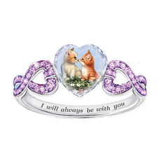 """The Kiss"" Ring"