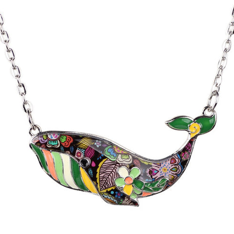 Humpback Whale Necklace