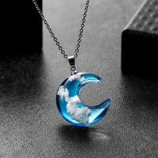 Moon Cloud Necklace