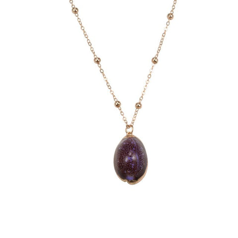Purple Nature Necklace