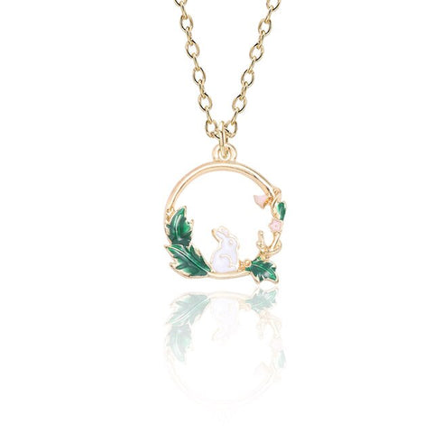 Circle Nature Necklace