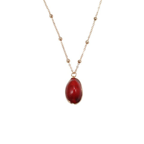 Red Nature Necklace