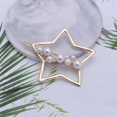 Star Beaded hair clip
