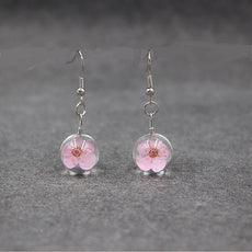 Flower earrings (15 variants)