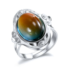 Vintage Oval Mood Ring