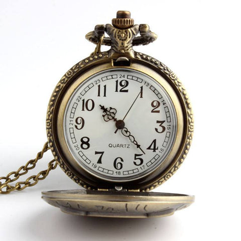 Watch - Owl Quartz Pocket Watch