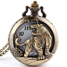 Watch - Tiger Quartz Pocket Watch