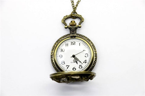 Watch - Wolf Quartz Pocket Watch