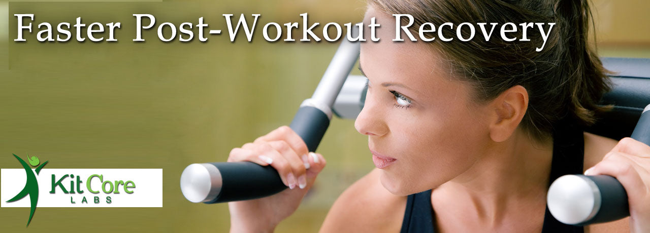 faster post workout recovery