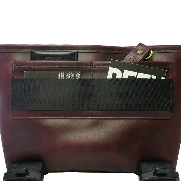 Recon Mini | Horween OxBlood Leather | Sample Bags | 2 Remain
