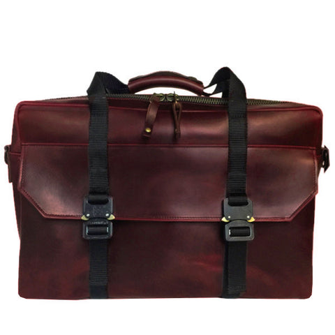 Defender Workcase | Horween OxBlood Leather | PRE-ORDER | SHIPS IN 3 WEEKS