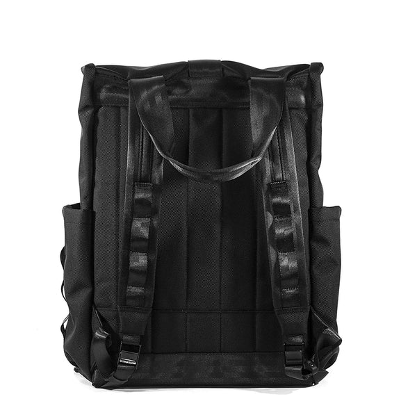 VerBockel Rolltop Backpack 2.0 'Un-Zipped' | Ballistic Nylon
