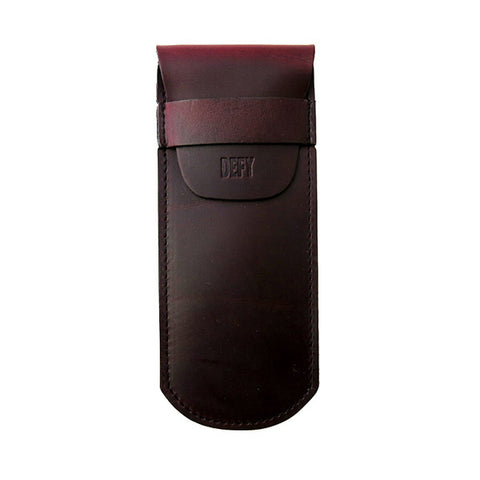 The Gent | Horween OxBlood Leather | Straight Razor Sheath