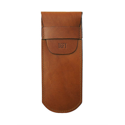 The Gent | Horween Rio Latigo Leather | Straight Razor Sheath