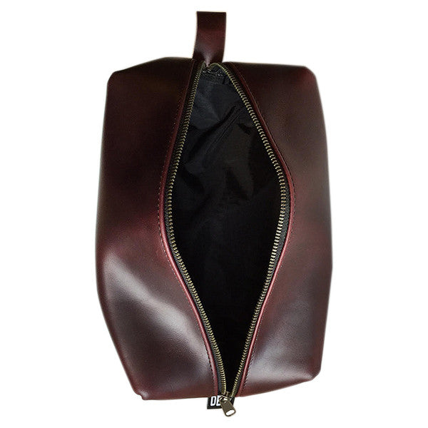 Dopp Kit | Horween OxBlood Leather