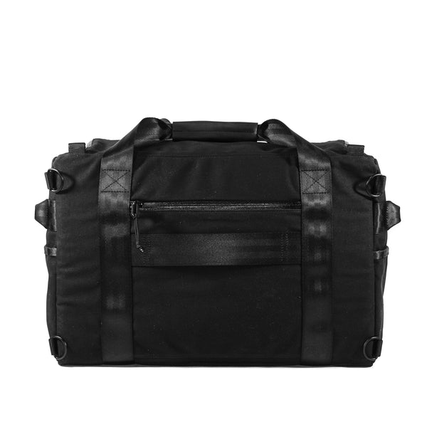 The Rover Backpack | Black Wax Canvas
