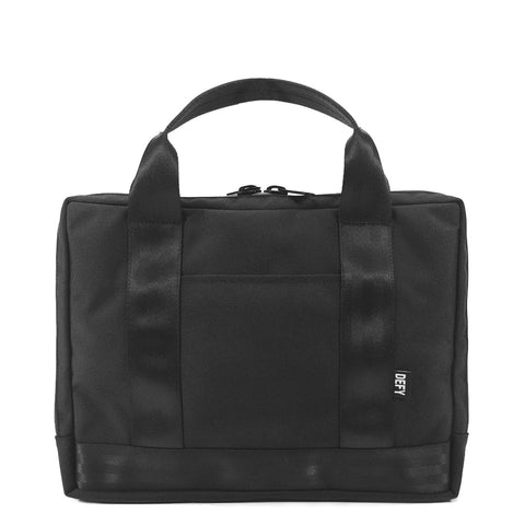 Slim Briefcase | Black Ballistic Nylon