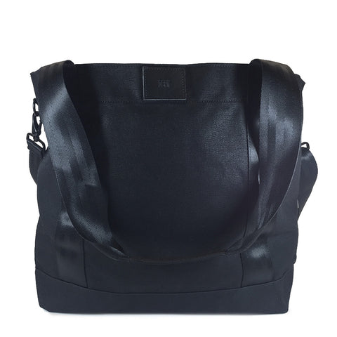 Cargo Hold Tote  | Black Wax Canvas