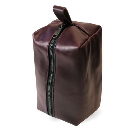 Sample Sale | Dopp Kit | Horween Oxblood Chromexel® Leather | Limited Quantities