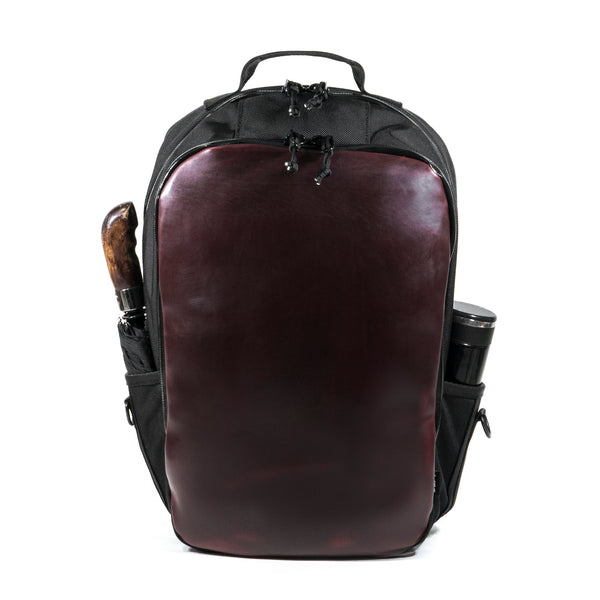 Bucktown Horween OxBlood Leather + Ballistic Nylon Hybrid