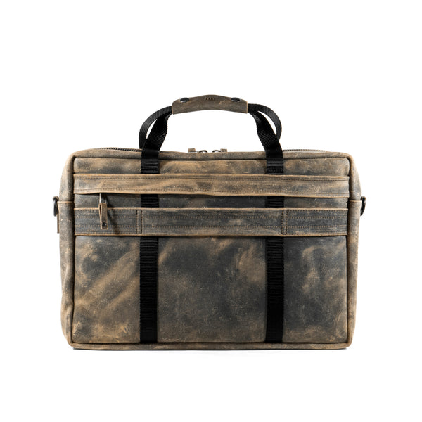 Defender Briefcase | Charles F. Stead and Co Ltd. | Snuff Waxy Commander Leather Bundle| Last 1