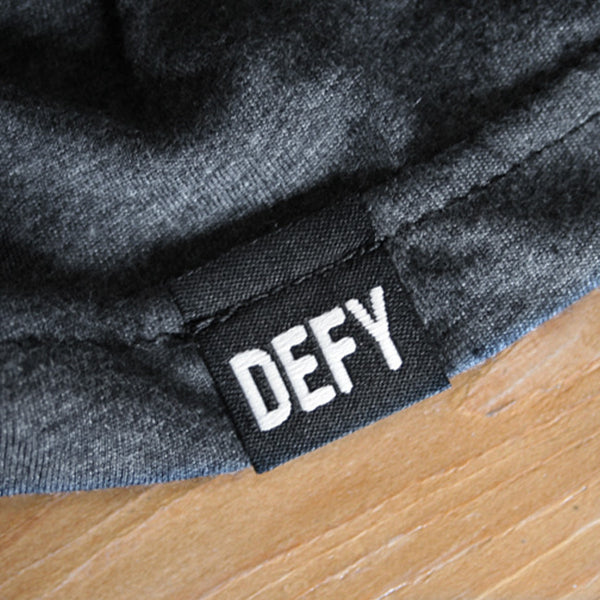 DEFY Tee | Dark Grey Heather