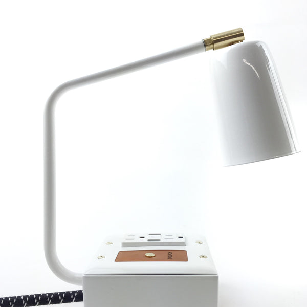 JAX Touch Smart USB Task Lamp | Aspen White | Last 1!