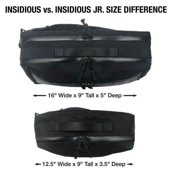Insidious Jr. Sling | Black Wax Canvas