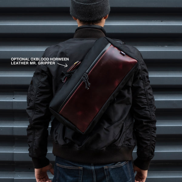Insidious Sling | Ballistic Nylon + Horween Oxblood Chromexel® Leather | Limited