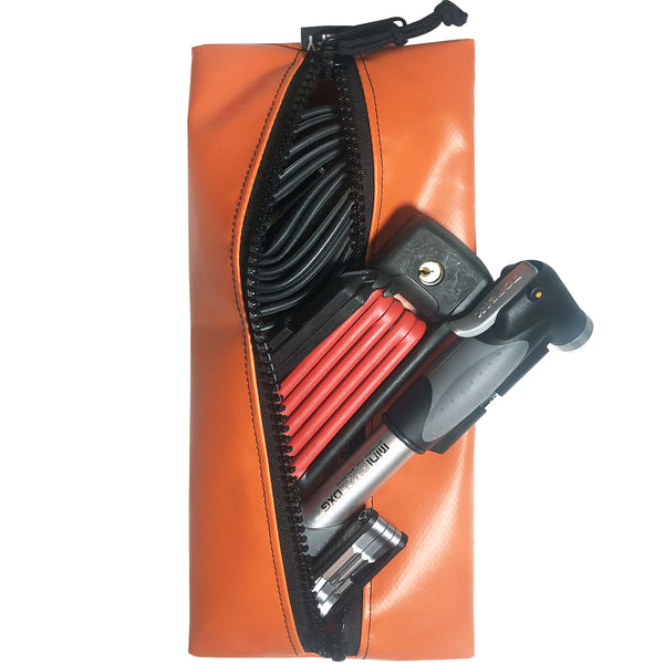 Jumbo Chump Limited Edition Gear Pouch | Orange Truck Tarpaulin