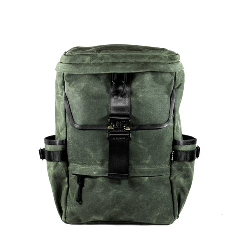 The Menace Backpack | Olive Drab Waxed Canvas | Limited Edition