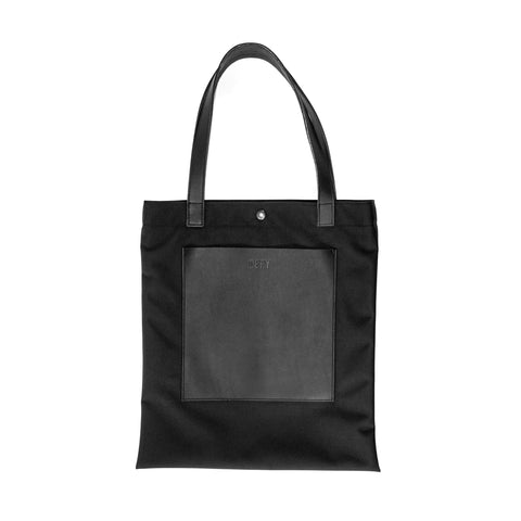 Batch Tote | Horween Austin Calf Leather | Ballistic Nylon
