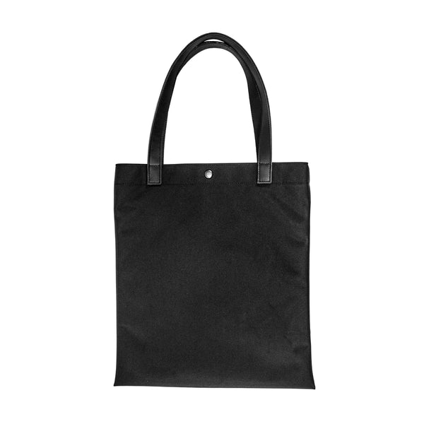 Batch Tote | Horween Austin Calf Leather | Black Ballistic Nylon