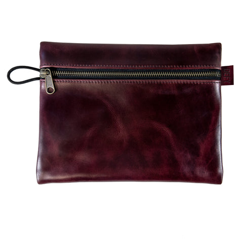 Large Gear Pouch | Horween Oxblood Chromexel® Leather