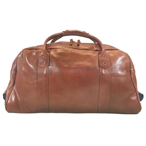 R&R Weekender | Horween Naked Cognac Leather Series