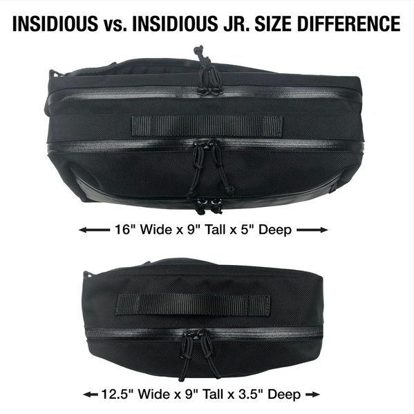 Insidious Jr. Sling | Horween Cavalier Whiskey Leather x Ballistic Nylon Edition