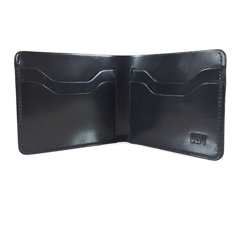 The Boss Wallet | Horween Black Shell Cordovan Leather | Limited Qty.