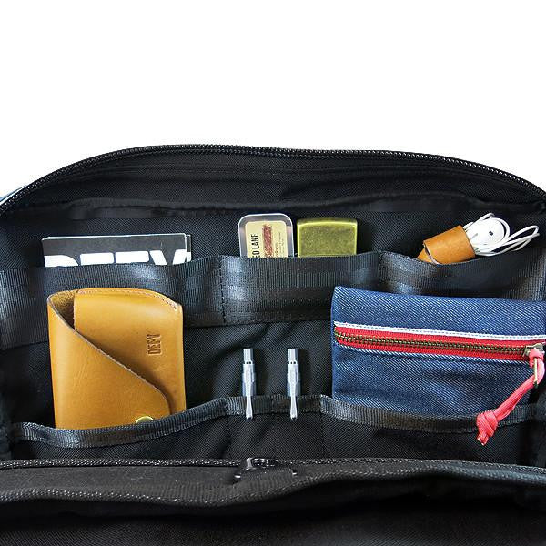 Slim Briefcase | Charcoal Horween Leather Collector Edition | Qty 1