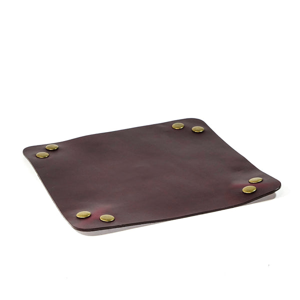 Snappy Valet | Horween OxBlood Leather