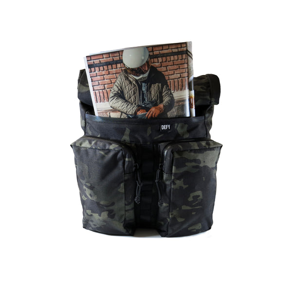 VerBockel 'Day Pack' Rolltop Backpack | Rogue Camo