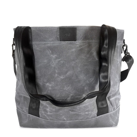 Cargo Hold Tote  | Grey Wax Canvas