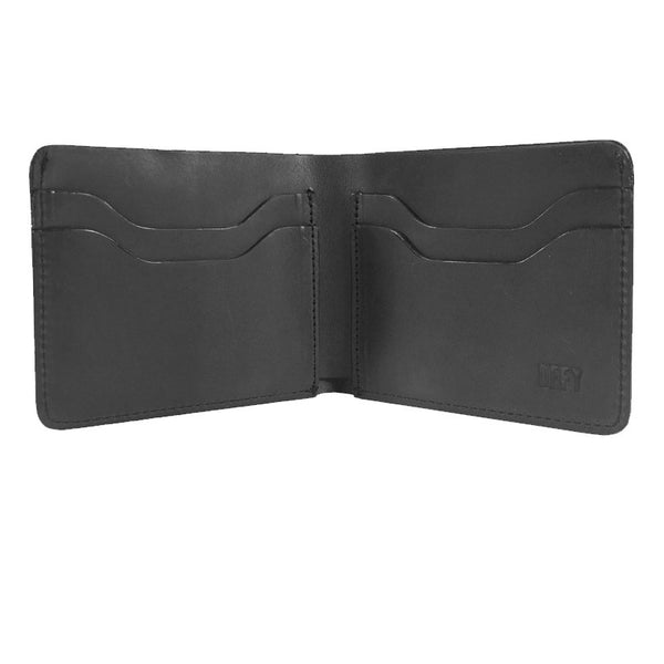 The Boss Wallet | Horween Charcoal Pullman Leather