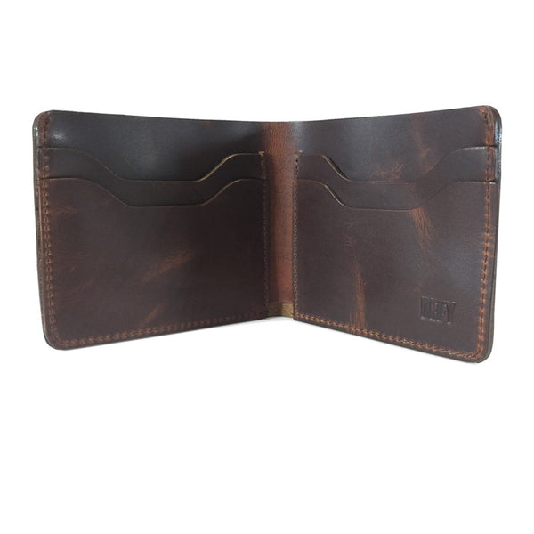 The Boss Wallet | Horween Dublin Chestnut Leather