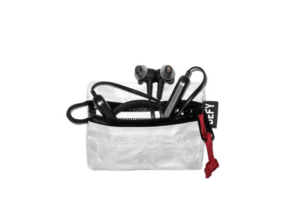Project Dyneema® | Micro Pouch | White | Ships in 2-3 Weeks