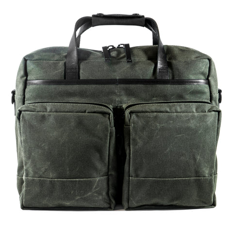 Epic 48 Hour Briefcase | Olive Wax Canvas | Few Remain