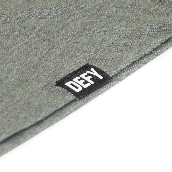 DEFY Tee | Heather Military Green