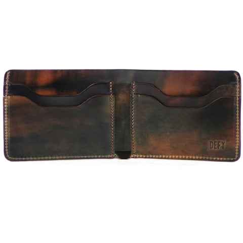 The Boss Wallet | Skip Horween Marbled Shell Cordovan Leather