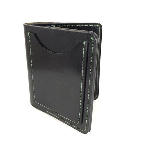 Manor Wallet | Large | Green 'Cash Money' Thread Samples