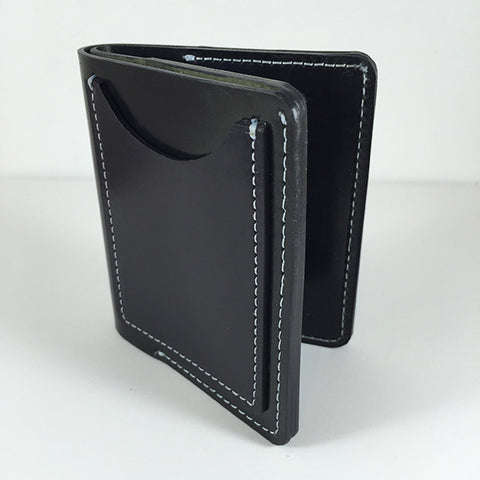 Manor Wallet | Large | 'Storm Trooper' White Thread Samples