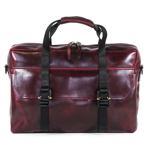 Defender Briefcase | Horween OxBlood Leather
